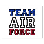 Team Air Force Small Poster