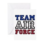 Team Air Force Greeting Cards (Pk of 10)