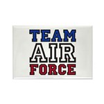 Team Air Force Rectangle Magnet