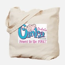 Oinka's Power to the Pink! Tote Bag