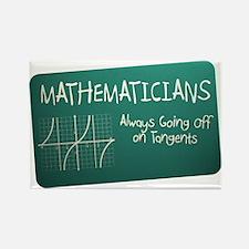 Tangent Rectangle Magnet (10 pack)