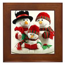 Holidays Framed Tile