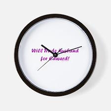 Husband for Edward Wall Clock