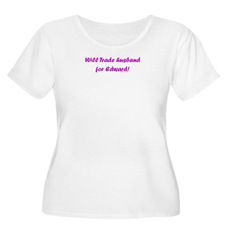 Husband for Edward Women's Plus Size Scoop Neck T-