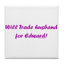 Husband for Edward Tile Coaster