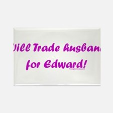 Husband for Edward Rectangle Magnet