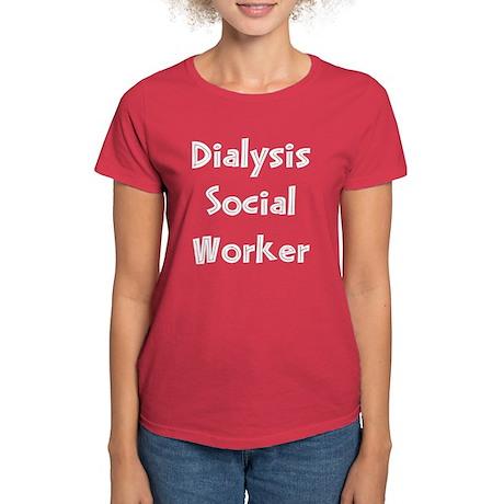 Dialysis Social Worker Women's Dark T-Shirt