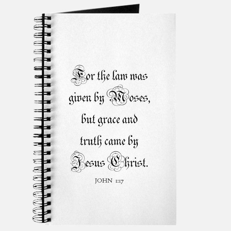 JOHN 1:17 Journal