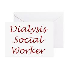 Dialysis SW Greeting Card