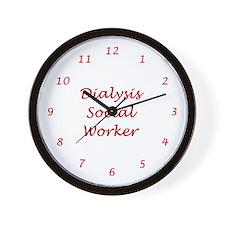 Dialysis SW Wall Clock