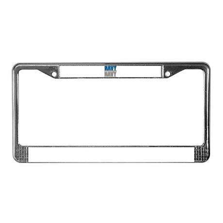 NAVY License Plate Frame
