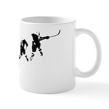 Hockey Art Slapshot Small Mug