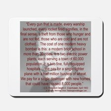 'Spread the Wealth Around' Ike Mousepad