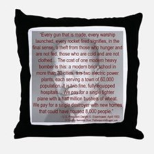 'Spread the Wealth Around' Ike Throw Pillow