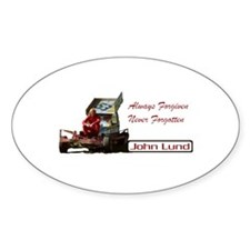John Lund Tribute Oval Decal