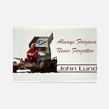 John Lund Tribute Rectangle Magnet