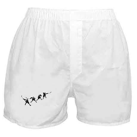 Hockey Art Slapshot Boxer Shorts