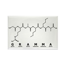 Gramma Peptide Rectangle Magnet
