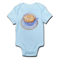 Cat in Coffee Infant Bodysuit