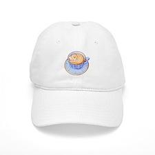 Cat in Coffee Baseball Cap