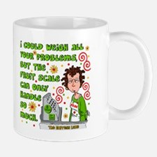 I Could Weigh Your Problems Mug