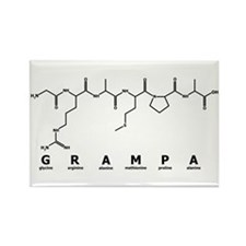 Grampa Peptide Rectangle Magnet