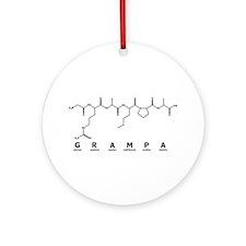 Grampa Peptide Ornament (Round)