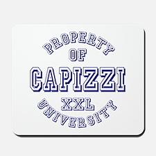 Property of Capizzi University Mousepad
