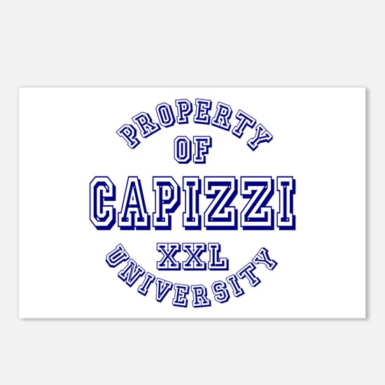 Property of Capizzi University Postcards (Package