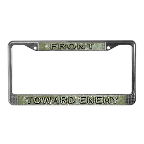 Claymore Front License Plate Frame