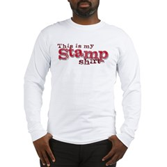 my stamp shirt Long Sleeve T-Shirt