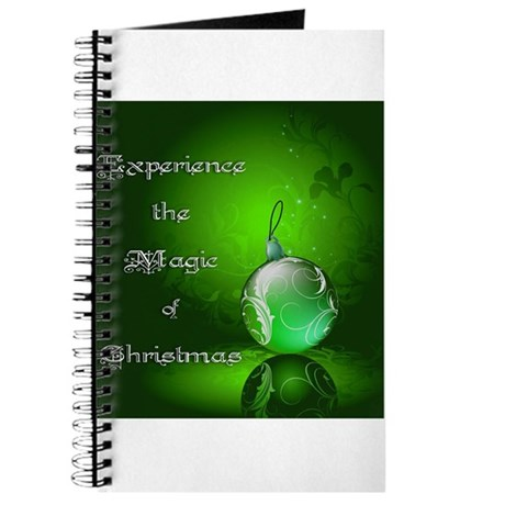 Magic Christmas ~ Green Journal