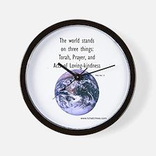 Three Things Wall Clock