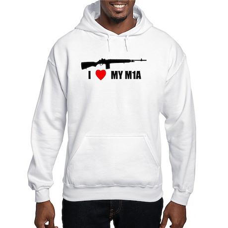 Front Logo Hooded Sweatshirt