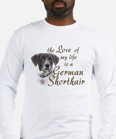 Love German Shorthair Long Sleeve T-Shirt