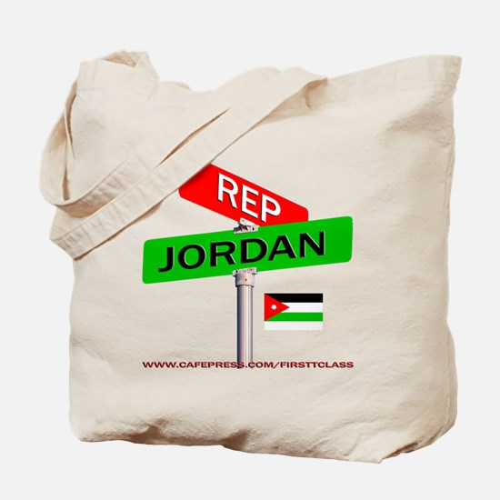 REP JORDAN Tote Bag