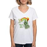 Forks Washington Women's V-Neck T-Shirt