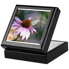 Butterfly and Flower Keepsake Box