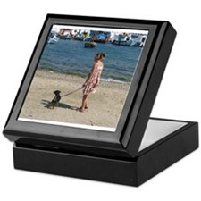 Mykonos Beach Keepsake Box
