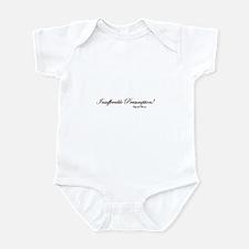 Insufferable Presumption Infant Bodysuit