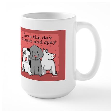 Dog Spay and Neuter Large Mug