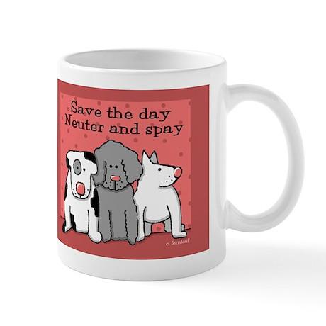 Dog Spay and Neuter Mug