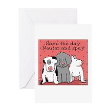 Dog Spay and Neuter Greeting Card