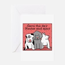 Dog Spay and Neuter Greeting Card