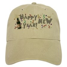 Happy New Year 2009 Baseball Cap