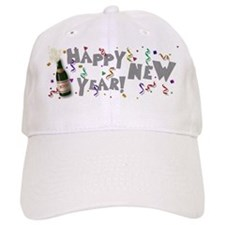 Happy New Year 2009 Baseball Cap