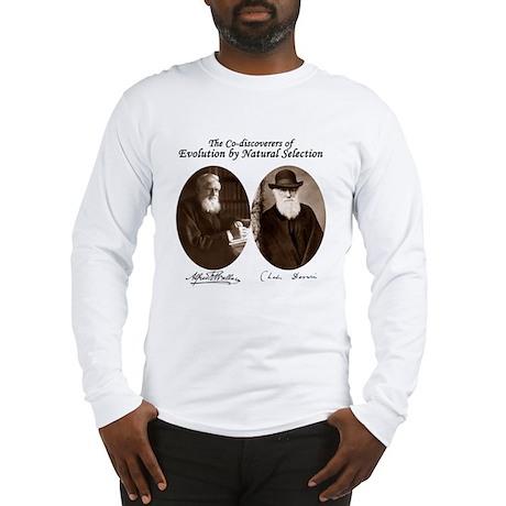 Wallace & Charles Darwin Long Sleeve T-Shirt