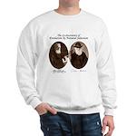 Wallace & Charles Darwin Sweatshirt