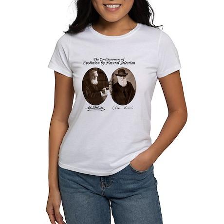Wallace & Charles Darwin Women's T-Shirt