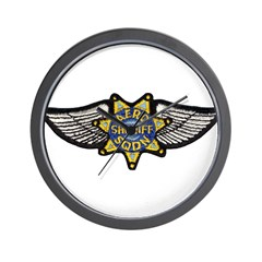 Aero Squadron Wall Clock